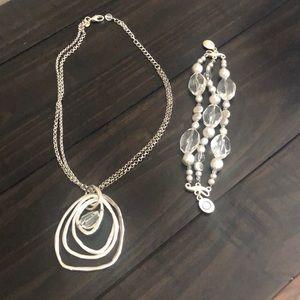 Necklace/ bracelet set